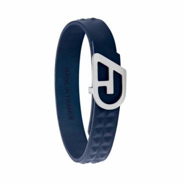Bracelet mixte ajustable CLOVIS