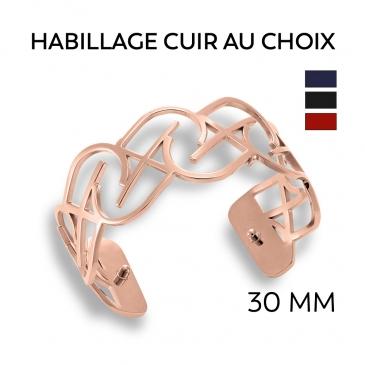 Bracelet acier JILLY personnalisable